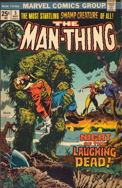 Cover for Man-Thing (Marvel, 1974 series) #5