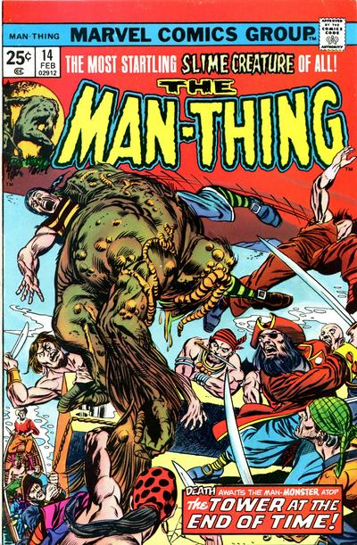 Cover for Man-Thing (Marvel, 1974 series) #14