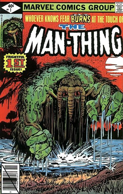Cover for Man-Thing (Marvel, 1979 series) #1 [Newsstand]