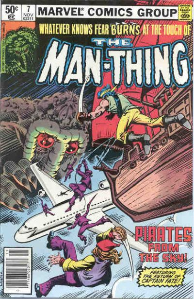 Cover for Man-Thing (Marvel, 1979 series) #7