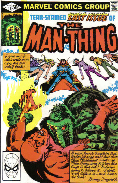 Cover for Man-Thing (Marvel, 1979 series) #11 [Direct]