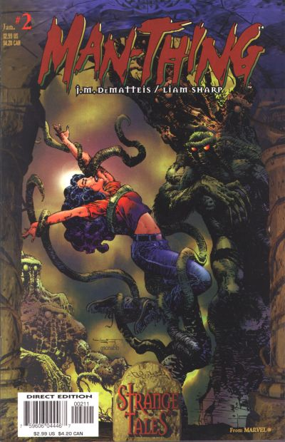 Cover for Man-Thing (Marvel, 1997 series) #2