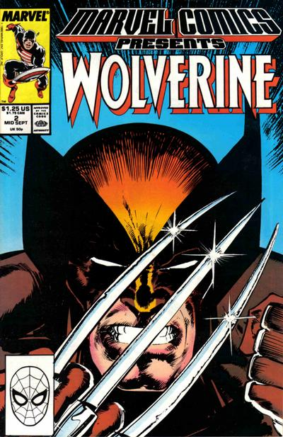 Cover for Marvel Comics Presents (Marvel, 1988 series) #2