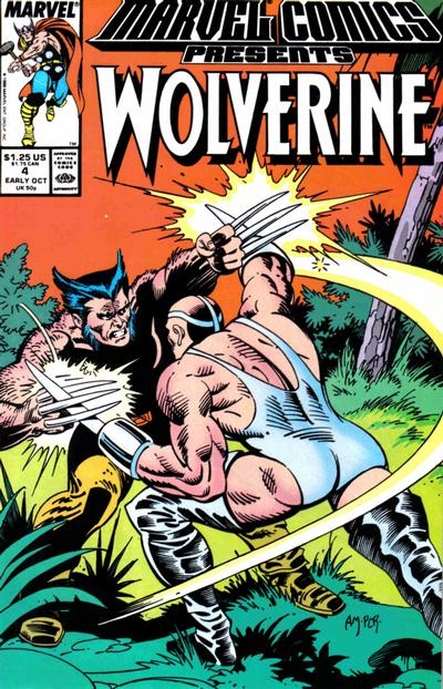 Cover for Marvel Comics Presents (Marvel, 1988 series) #4