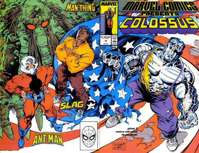 Cover for Marvel Comics Presents (Marvel, 1988 series) #11