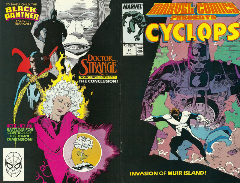 Cover for Marvel Comics Presents (Marvel, 1988 series) #20