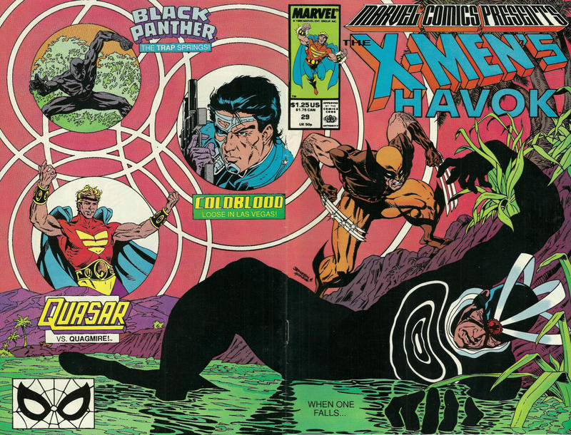 Cover for Marvel Comics Presents (Marvel, 1988 series) #29