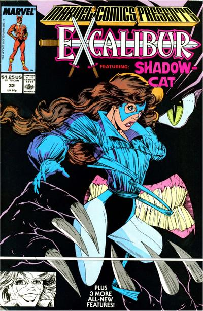 Cover for Marvel Comics Presents (Marvel, 1988 series) #32
