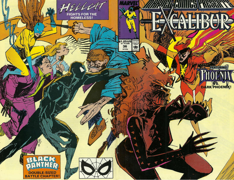 Cover for Marvel Comics Presents (Marvel, 1988 series) #36