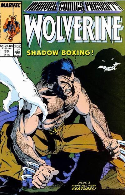 Cover for Marvel Comics Presents (Marvel, 1988 series) #39