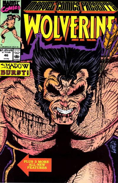 Cover for Marvel Comics Presents (Marvel, 1988 series) #46 [Direct]
