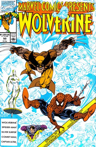 Cover for Marvel Comics Presents (Marvel, 1988 series) #50