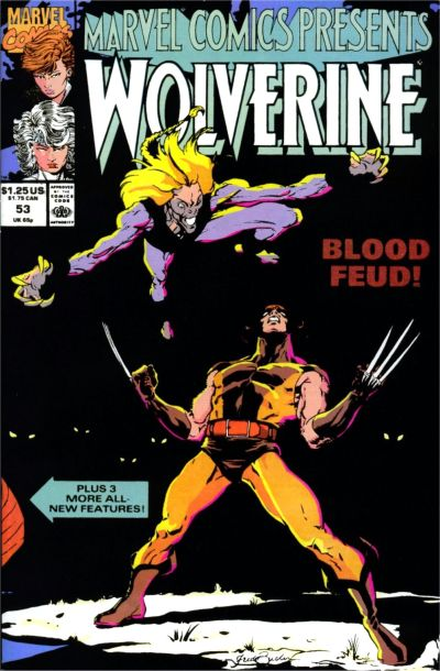Cover for Marvel Comics Presents (Marvel, 1988 series) #53