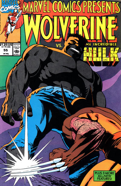 Cover for Marvel Comics Presents (Marvel, 1988 series) #55