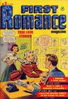 Cover for First Romance Magazine (Harvey, 1949 series) #2