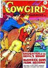 Cover for Cowgirl Romances (Fiction House, 1950 series) #3