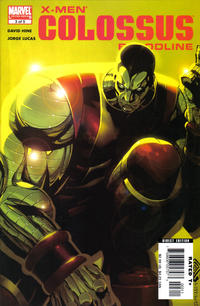 Cover Thumbnail for X-Men: Colossus Bloodline (Marvel, 2005 series) #3