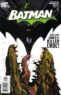 Cover for Batman (DC, 1940 series) #642