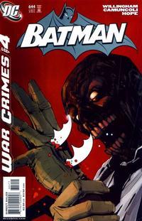 Cover Thumbnail for Batman (DC, 1940 series) #644