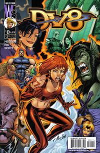 Cover Thumbnail for DV8 (DC, 1999 series) #0 [Al Rio Cover]