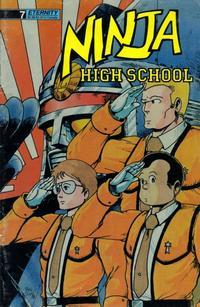 Cover Thumbnail for Ninja High School (Malibu, 1988 series) #7