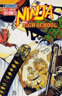 Cover Thumbnail for Ninja High School (Malibu, 1988 series) #11