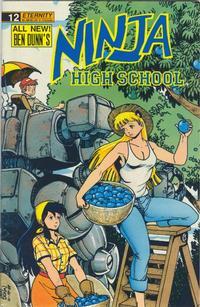 Cover Thumbnail for Ninja High School (Malibu, 1988 series) #12