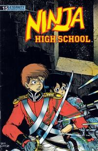 Cover Thumbnail for Ninja High School (Malibu, 1988 series) #15