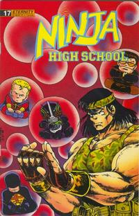 Cover Thumbnail for Ninja High School (Malibu, 1988 series) #17