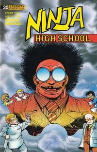 Cover Thumbnail for Ninja High School (Malibu, 1988 series) #20