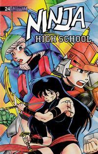 Cover Thumbnail for Ninja High School (Malibu, 1988 series) #24