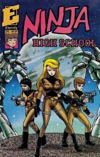 Cover Thumbnail for Ninja High School (Malibu, 1988 series) #28