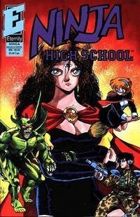 Cover Thumbnail for Ninja High School (Malibu, 1988 series) #36