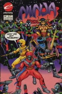 Cover Thumbnail for Ninja High School in Color (Malibu, 1992 series) #9