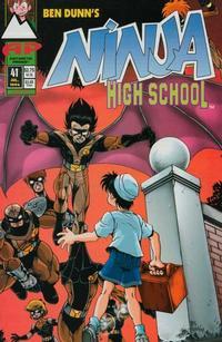 Cover Thumbnail for Ninja High School (Antarctic Press, 1994 series) #41