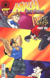 Cover Thumbnail for Ninja High School (Antarctic Press, 1994 series) #56