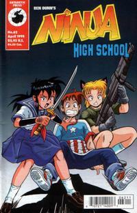 Cover Thumbnail for Ninja High School (Antarctic Press, 1994 series) #62