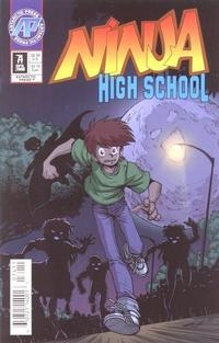 Cover Thumbnail for Ninja High School (Antarctic Press, 1994 series) #74