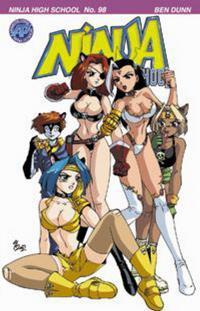 Cover Thumbnail for Ninja High School (Antarctic Press, 1994 series) #98