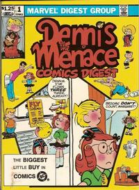 Cover Thumbnail for Dennis the Menace Comics Digest (Marvel, 1982 series) #1 [Direct]