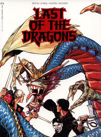 Cover Thumbnail for Epic Graphic Novel: Last of the Dragons (Marvel, 1988 series)