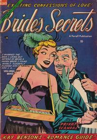 Cover Thumbnail for Bride's Secrets (Farrell, 1954 series) #3