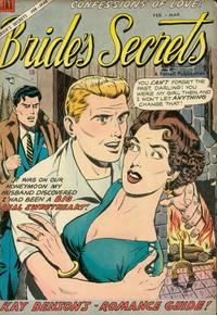Cover Thumbnail for Bride's Secrets (Farrell, 1954 series) #6