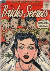 Cover Thumbnail for Bride's Secrets (Farrell, 1954 series) #8