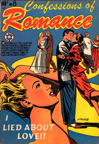 Cover Thumbnail for Confessions of Romance (Star Publications, 1953 series) #8