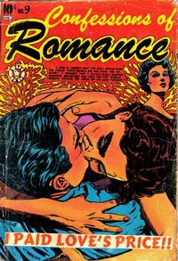 Cover Thumbnail for Confessions of Romance (Star Publications, 1953 series) #9