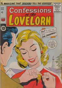 Cover Thumbnail for Confessions of the Lovelorn (American Comics Group, 1956 series) #80