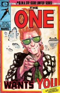 Cover Thumbnail for The One (Marvel, 1985 series) #5