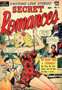 Cover Thumbnail for Secret Romances (Superior Publishers Limited, 1951 series) #1
