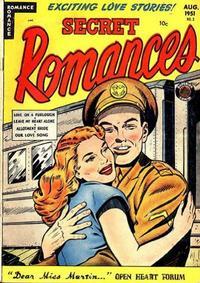 Cover Thumbnail for Secret Romances (Superior Publishers Limited, 1951 series) #3